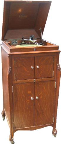 Victrola Victor 1915 Antique Mahogany Phonograph Model VV-XI ...